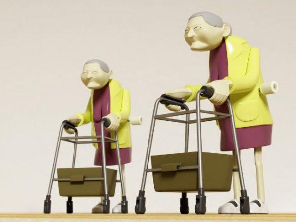Racing Grannies (Set van 2)