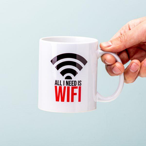 All I Need Is WiFi mok