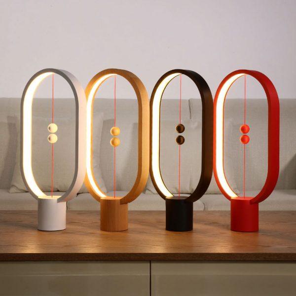 Balance Lamp Oval - Magnetische lamp - Wit licht