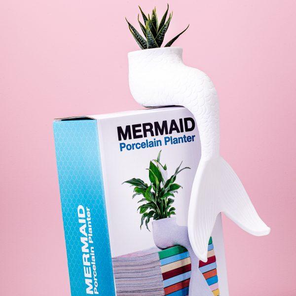 Bitten Zeemeermin bloempot