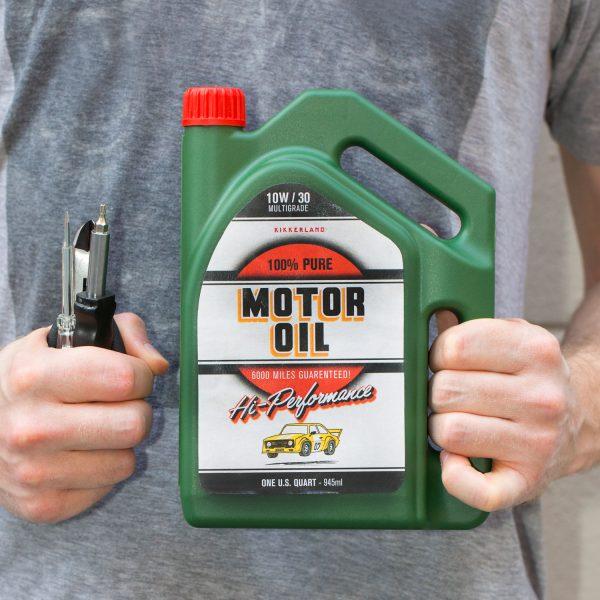 Kikkerland Motorolie toolkit