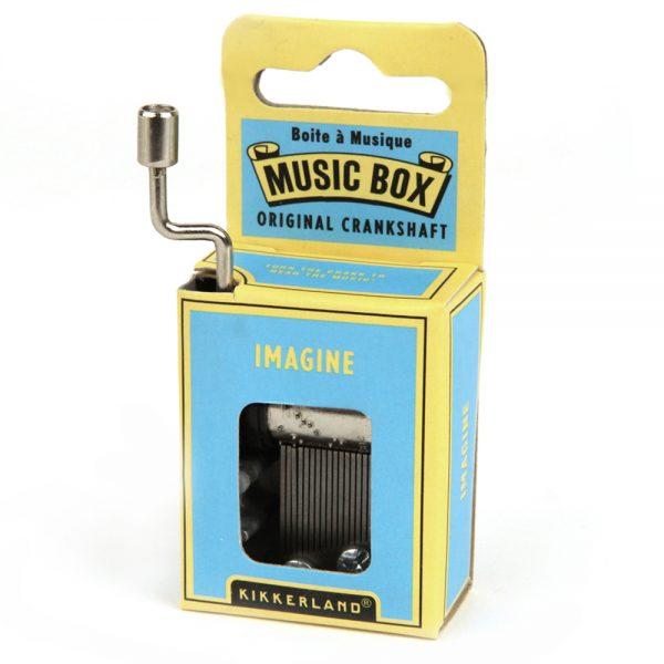 Kikkerland Muziekdoosje - Imagine