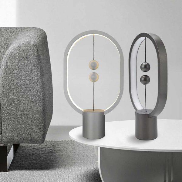 Mini Heng Balance Lamp - Magnetische Design Lamp - Warm Wit licht