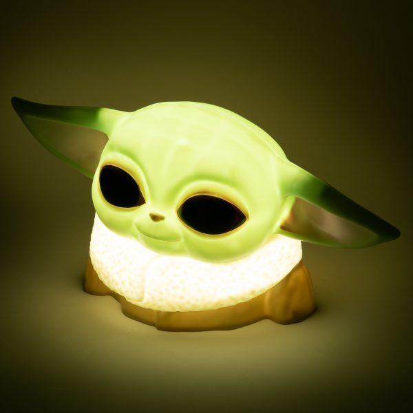 Disney Star Wars Mandalorian Baby Yoda Lampje - Ditverzinjeniet.nl