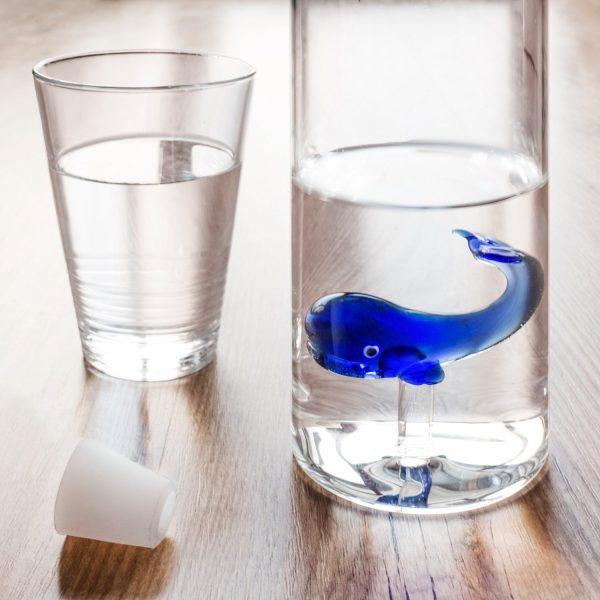 Waterfles - Blauwe Walvis - Balvi